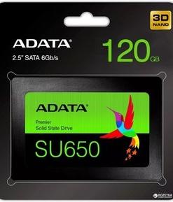 Disco Estado Solido SSD SATA 120GB ADATA SU650